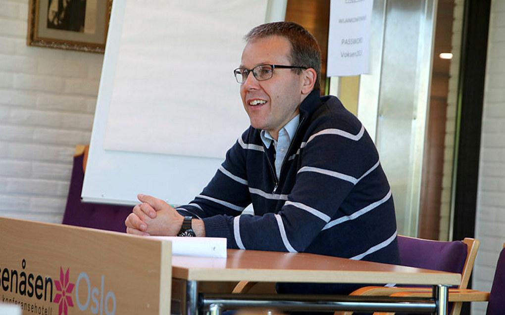 Alexander Meyer leder Lærerprofesjonens etiske råd. Foto: Eli Kristine Korsmo